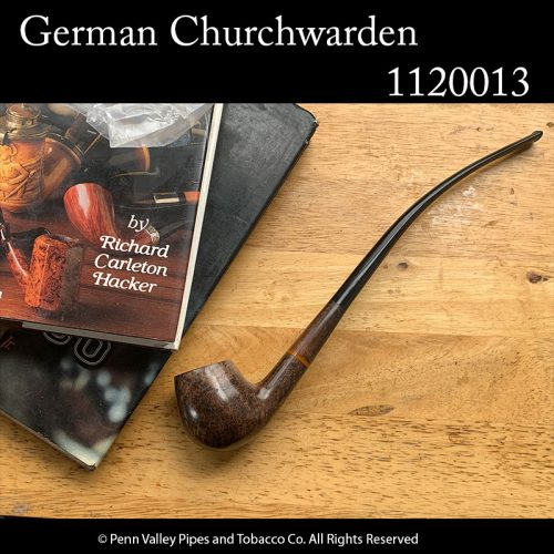 Full-size German-made briar churchwarden pipes at Pipeshoppe.com