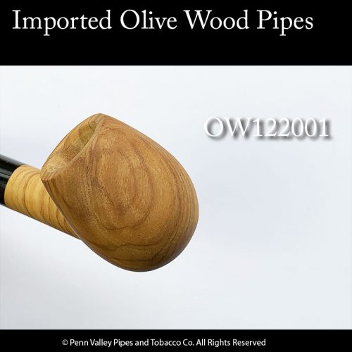 Olive wood pipes from Germany at Pipeshoppe.com