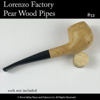 Lorenzo Pear Wood Pipe at Pipeshoppe.com