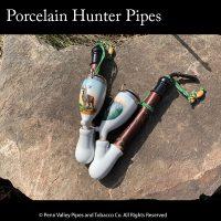 Porcelain Hunter PIpe