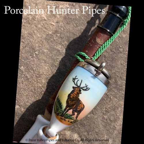 Porcelain Hunter Pipes exclusively at Pipeshoppe.com