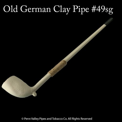 Old German clay Pipe #49sg at Pipeshoppe.com