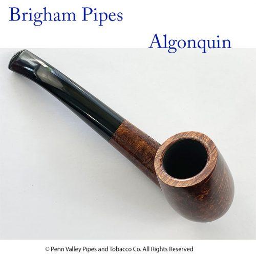 Brigham Pipes at Pipeshoppe.com - Algonquin Dark