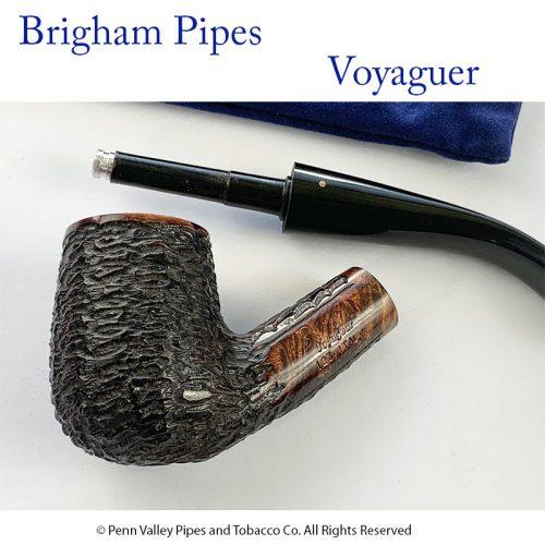 Brigham Pipes at Pipeshoppe.com - Voyaguer